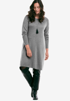 Fine Gauge Sweater Dress by ellos®,