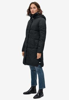 Side Snap Puffer Coat by ellos®,