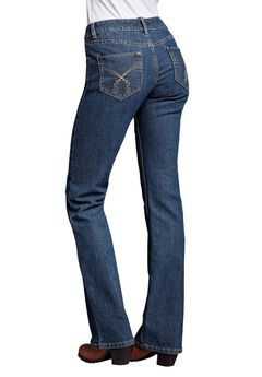 Bootcut 5-pocket Jeans by ellos®, STONEWASH, hi-res