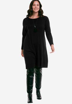 Fine Gauge Sweater Dress by ellos®,
