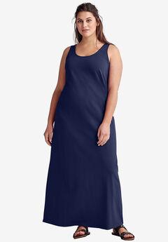 8bcac40e943 Sleeveless Knit Maxi Dress by ellos®