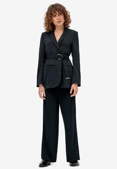 Belted Soft Blazer by ellos®,