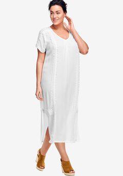 A-line Cut-Out Back Dress by ellos®,
