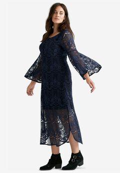Florence Lace Midi Dress by ellos®,