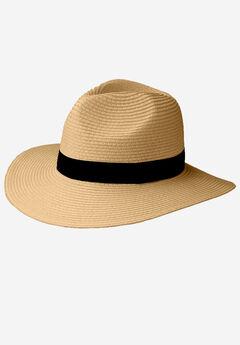 Straw Panama Hat by ellos®,