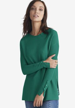 Boatneck Sweater Tunic,
