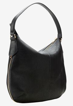 Expandable Hobo Bag by ellos®, BLACK, hi-res