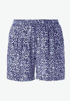 Woven Drawstring Shorts by ellos®,