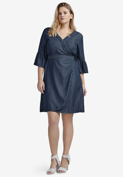 c44c1be9e56 Plus Size Dresses with Sleeves for Women
