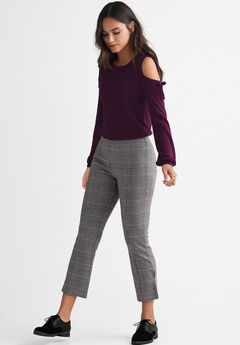 Seamed Ponte Crop Pants by ellos®,