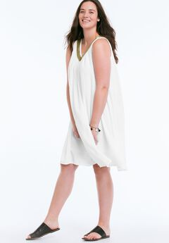 Goddess Dress by Ellos®, WHITE, hi-res