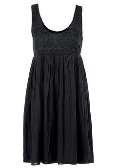 Sleeveless Lace Bodice Dress by ellos®, BLACK, hi-res
