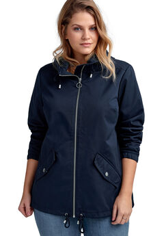 8c01902cd65 Drawstring Hem Jacket by ellos®.  54.90. Teddy Faux Fur ...