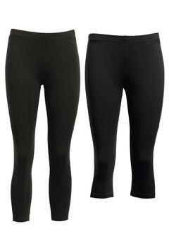 2-pack Leggings by ellos®, BLACK, hi-res