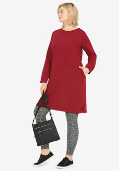 French Terry Tunic Dress by ellos®,