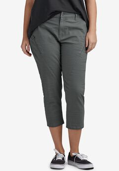 Seamed Zip Capri by ellos®,