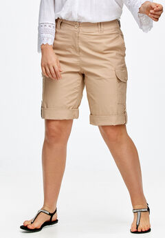 Convertible Cargo Shorts by ellos®,