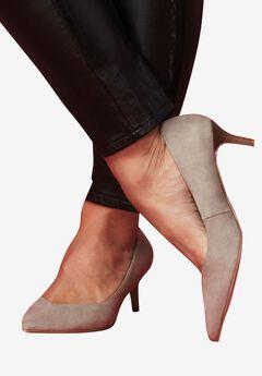 Pointed Toe Kitten Heel by ellos®,