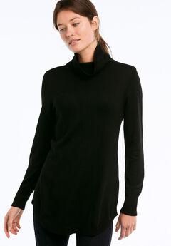 Audrey Turtleneck Sweater by ellos®, BLACK, hi-res