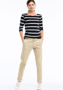 Stretch Chinos by ellos®, NEW KHAKI, hi-res