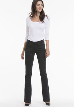 Bootcut jeans by ellos®, BLACK