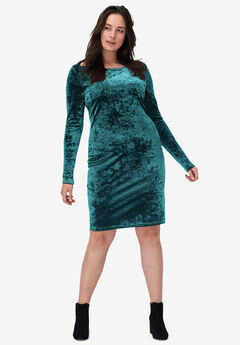 Velvet Sheath Dress by ellos®,