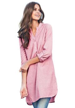 55749219b21 Plus Size Tunics for Women | Roaman's