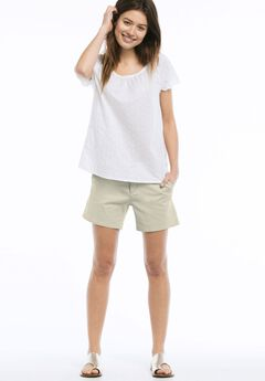 Chino Shorts by Ellos®, NEW KHAKI, hi-res
