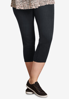 Capri Jegging by Ellos®, BLACK, hi-res