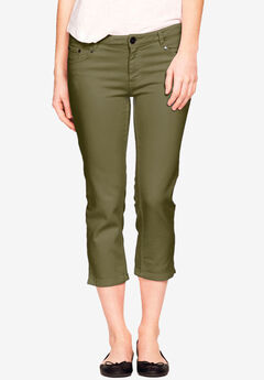 Stretch Slim Capris by ellos®,