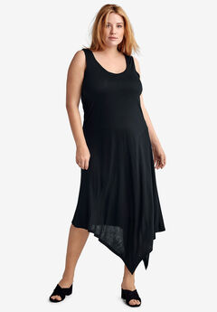 Hanky Hem A-Line Dress by ellos®,