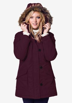 Faux Fur Trim Jacket by ellos®,