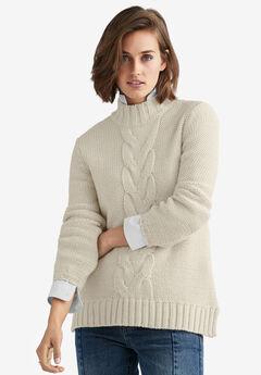 Mock-Neck Pullover by ellos®,