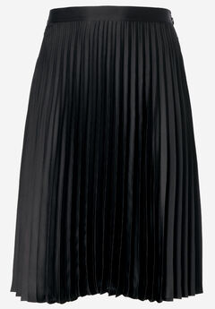 Soft Pleated Skirt by ellos®, BLACK