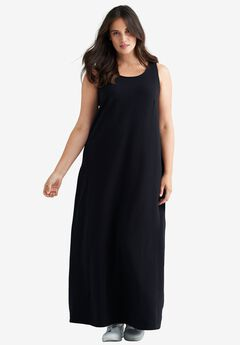 Sleeveless Knit Maxi Dress by ellos®,