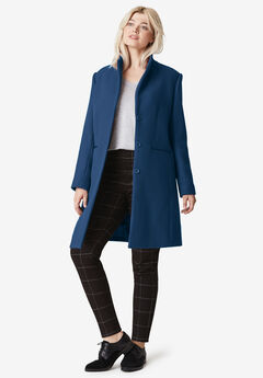 Malin Wool-Blend Coat by ellos®,