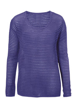 Chunky Knit Sweater by ellos®, DEEP IRIS, hi-res
