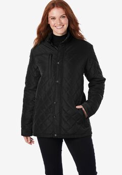 Plus Project Light Quilted Jacket by ellos®,
