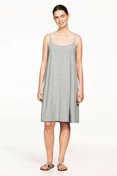 Tank A-line Dress by Ellos®, HEATHER GREY, hi-res