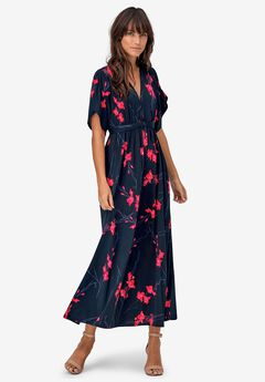 Harper Tie-Waist Maxi Dress by ellos®,