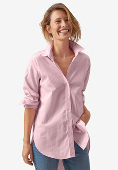 Button-Front Shirt by ellos®,