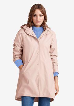 Snap-Front Raincoat,