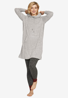 Funnel-Neck Lounge Sweatshirt Tunic by ellos®,