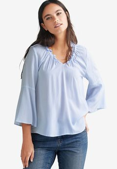 Bell Sleeve Blouse by ellos®,