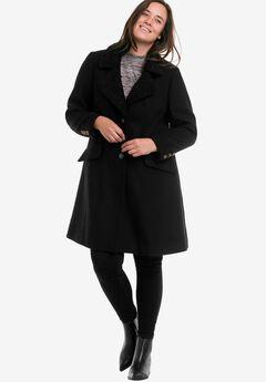 Victoria Wool-Blend Coat by ellos®,