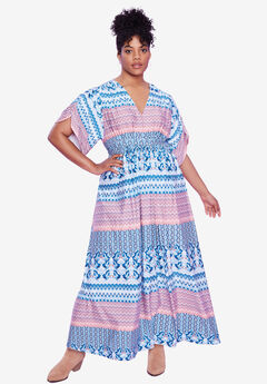 Harper Tie-Waist Maxi Dress by ellos®,