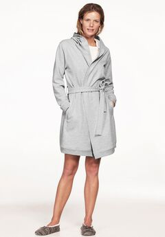 Hooded Fleece Robe,