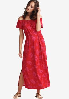 Off-the-Shoulder Maxi Dress by ellos®,