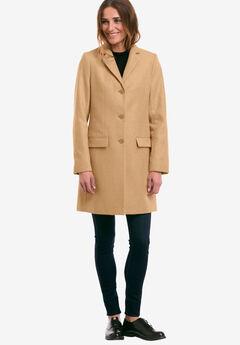 Long Wool Blend Blazer by ellos®,