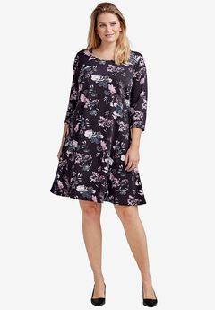 b57d1436407 Plus Size Floral Dresses for Women